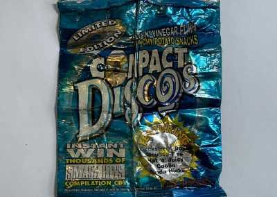 Discos Crisps Packet Smash Hits Promo 1999