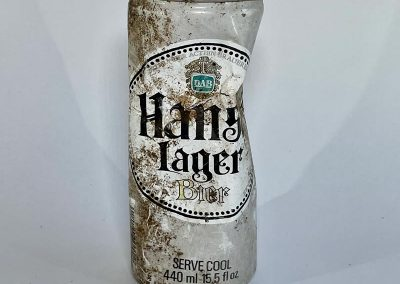 Hansa Lager Can Front 1980s
