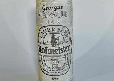 Hofmeister Lager Big Value Can 1989