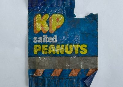 KP Salted Peanuts Packet Front 1980s