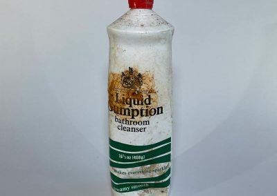 Liquid Gumption Bathroom Cleaner Bottle 1970s