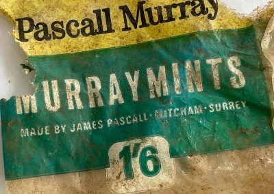 Pascall Murray Murray Mints Packet 1960s