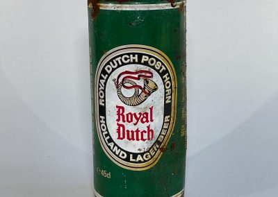 Royal Dutch Lager Can Front 1985