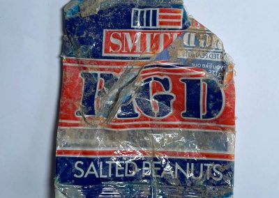 Big D Salted Peanuts Packet 1983