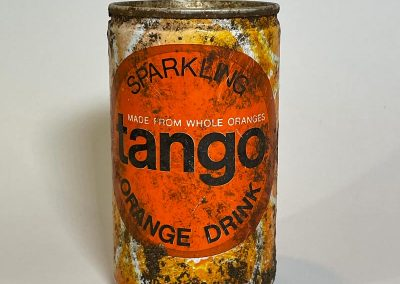 Tango Orangeade Can With Record Token Offer 1980s