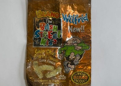 The Bash Street Kids Corn Snacks Packet 1999