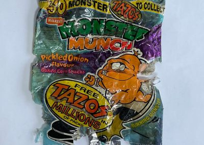 Walkers Monster Munch Packet Tazos Promo 1996