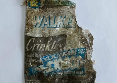 Walkers Crinkle Crisps Packet Instant Win Promo 1995