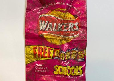 Walkers Crisp Packet With Back To School Offer 1999