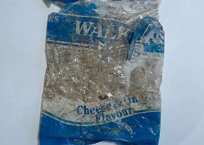 Walkers Crisps Packet Front 1988