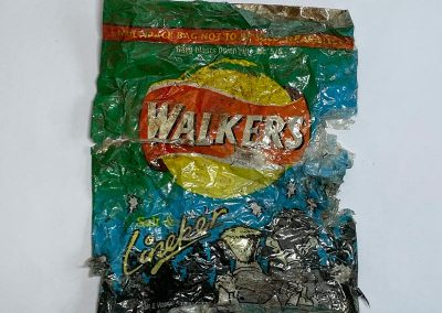 Walkers Salt And Lineker Crisps Packet 1999