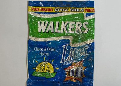 Walkers Crisps Packet Spice Girls Promo 1997