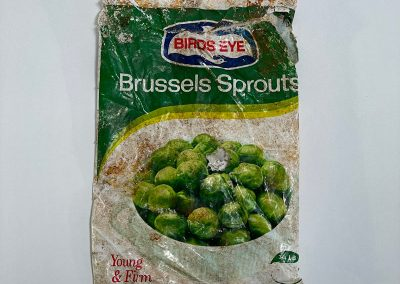Birds Eye Brussels Sprouts Bag 1972