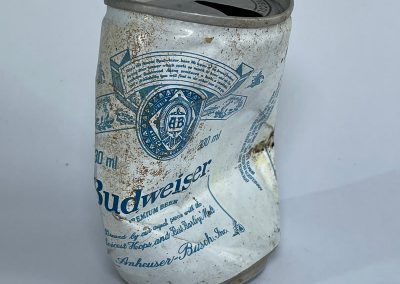 Budweiser Lager Can 1988