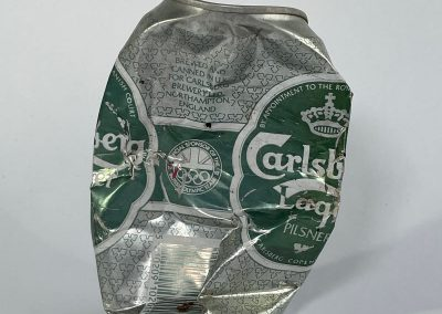 Carlsberg Lager Can British Olympic Team Sponsor 1992