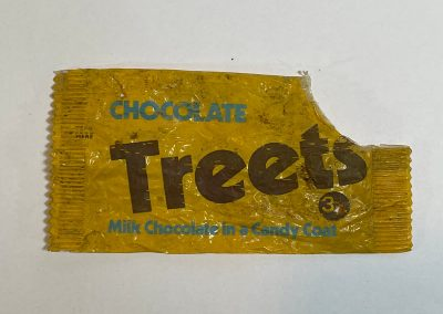 Chocolate Treets Packet 1970s