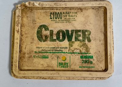 Dairy Crest Clover Spread Lid 1989
