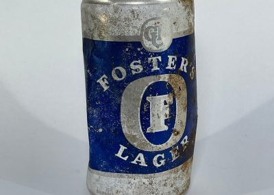 Fosters Lager Can Front 1987