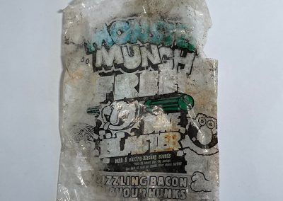 Smiths Monster Munch Packet Bike Blaster Promo 1992