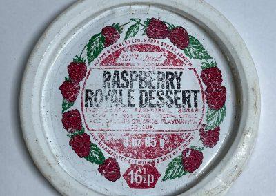 St Michael Raspberry Royale Dessert Lid 1970s