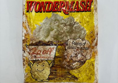 Wondermash Dried Mashed Potato Packet 1972