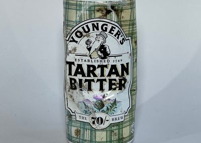 Youngers Tartan Bitter Can 1980s
