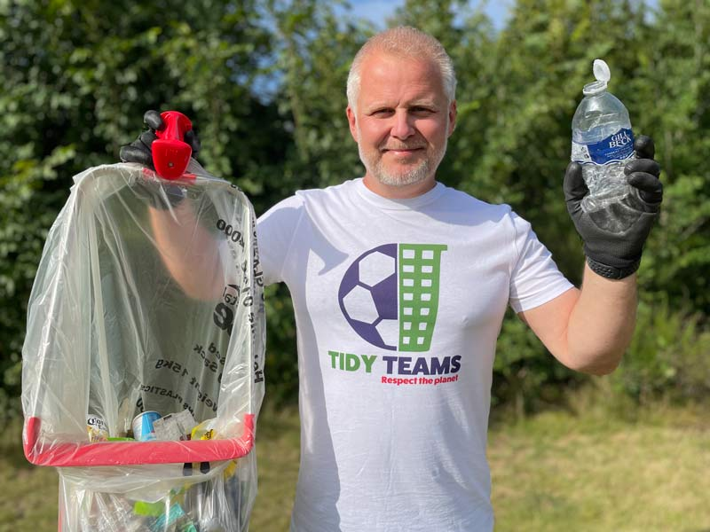 Football Clubs Across The UK Urged To Join The Fight Against Litter.